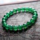 Natural Green Agate Bracelet Charms Bracelet 10mm