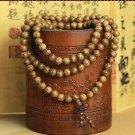 8mm * 108 beads bracelet wooden wings pendant rosary beads bracelet car