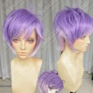 New wig Cosplay Short Kanato Purple Gradient Heat Resistant Wig