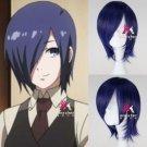 Tokyo Ghoul Kirishima Touka Wig Synthetic Short Straight Anime Cosplay Wig
