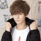 Hot style! Handsome Boys Wig Korean Fashion Short Men Hair