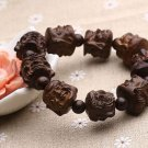 Natural ebony skin fine carving beadle beads hand string Strange bracelets