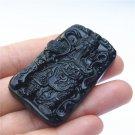 Hand-carved beautiful jade pendant jade pendant Zhongyi Guan Gong