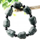 Beautiful jade carving cabbage bracelet