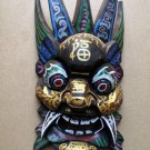 CHINESE WOODEN HANDWORK CARVED MASK