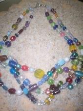 Multi-Strand/Color Necklace