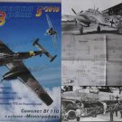 German WW2 MESSERSHMITT Bf 110G-4 and other Articles