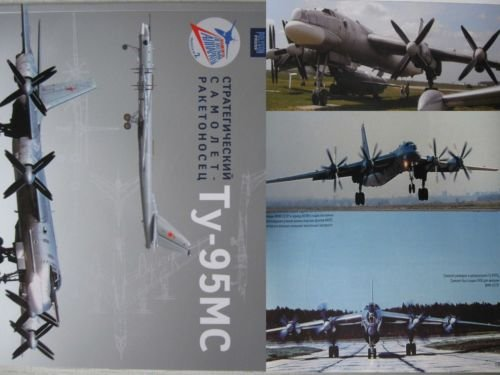 NEW! Russian Strategical Torpedo-Bomber Plane Tu-95MC
