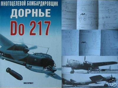German WW2 Multi-Purpose Bomber Do 217 AIRCRAFT - BOOK