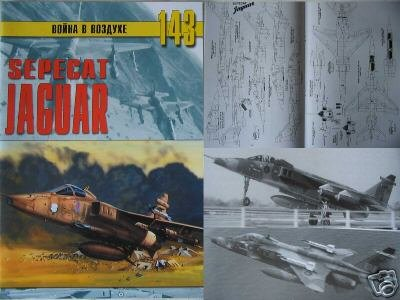 British/French Military Aircraft SEPECAT JAGUAR ( Book)