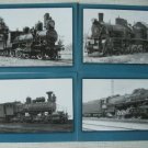 Steam Locomotives of Russian Railways16 Postcards Set 1