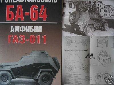 Russian WW2 Armored Car BA-64 (Amphibian GAZ-011)