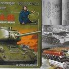 Russian/Soviet WW2 Middle Tank T-34-85