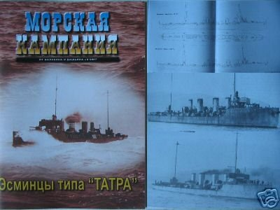 TATRA Kind Destroyers (Austria-Hungary - WWI)-NAVY