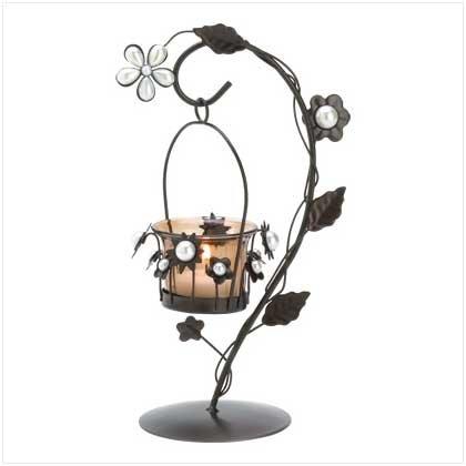 Pearl Petal Tea Light Holder