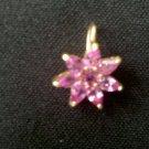 Pink Sapphire pendant  P-1096