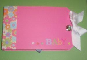 Baby Girl Mini Scrapbook