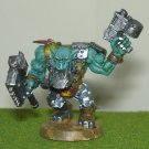 Warhammer 40k Ork Nobz o da Checkard pantz metal jaw