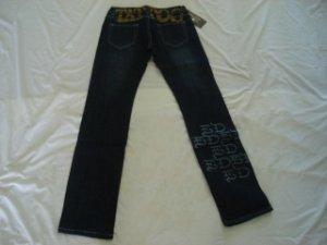 ED Hardy womens long jeans pants SIZE 31