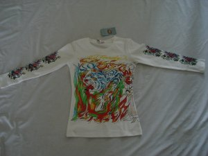 ED Hardy long sleeve womens dress shirt S