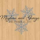 Dance Floor Decals Winter Romance