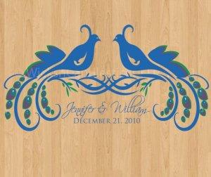 Dance Floor Decals The Wild Peacock