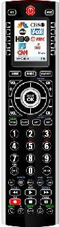 """X10 IR10A Nstinct Icon Universal Remote Control, 2"""" LCD, 9 Device Home Automation"""