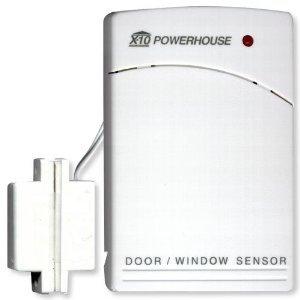 X10 Pro PDS01 or DS10A Wireless Door / Window Sensor, Long Range, WHITE