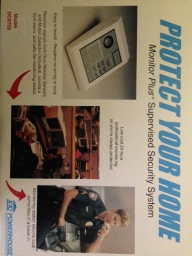 SECURITY SYSTEM - PROTECT YOUR HOME
