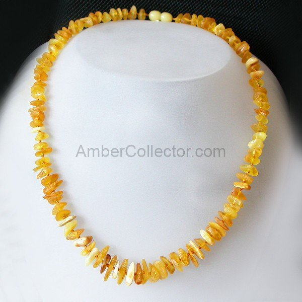 Rough Adult Baltic amber beads necklace