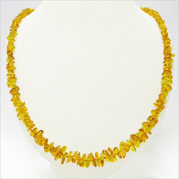 Baltic amber nuggets beads necklace