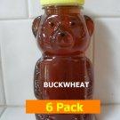 SAVE 10% - 6pk Buckwheat Honey 6 x 12oz btls. Item # BCK-6
