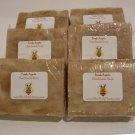 SAVE 10% - 6pk Apple Soap Handmade. Item # SAP-6