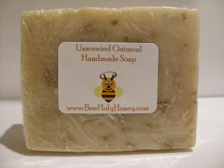 Unscented Oatmeal Soap - Single bar Item # SUO-1