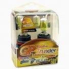 9004 HB1 Golden Yellow 3500K GP Thunder Xenon Driving Light Bulbs