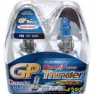 H3 Super White 7500K GP Thunder Xenon Plasma Light Bulbs