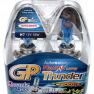 H7 Super White 7500K GP Thunder Xenon Plasma Head Light Bulbs