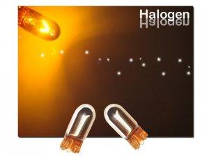 GP Thunder 194 168 2825 12256 W5W Chrome Amber Light Bulbs Wedge