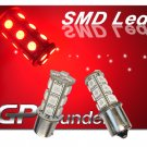 GP Thunder Pair 1156 1073 1141 7506 Red SMD LED Turn Signal/Tail Light Bulbs