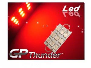 GP Thunder 211-2 561 562 564 1142 9 SMD LED RED Rigid Loop Bulbs