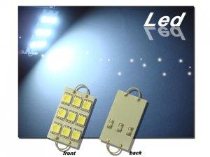 GP Thunder 211-2 561 562 564 1142 9 SMD LED White Rigid Loop Bulbs