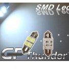 GP Thunder 31mm 1031 DE3175 DE3425 4-SMD LED Super White Doom Door Light Bulbs NEW