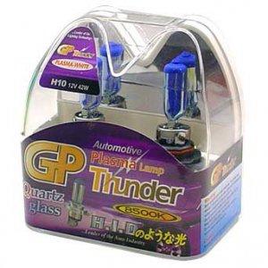 H10 9145 PY20D Plasma White GP Thunder 8500k 42W Standard Wattage Head Light Bulbs