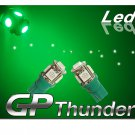 194 GP Thunder 168 2825 T10 5050 SMD 5LED Super Green tag Light Bulbs