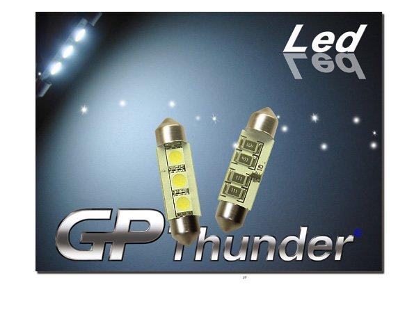 GP Thunder No Error 1039 6418 6423 Canbus SMD 5050 LED Festoon Light Bulbs White