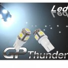 194 GP Thunder 168 2825 T10 5050 SMD 5LED Super White tag Light Bulbs