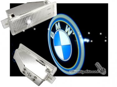 Pair of GP Xtreme BMW Led Courtesy Ghost Shadow Door Light for BMW E60 E63 E90 3 Series E92 E93