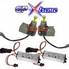 GP Xtreme H8 Cree LED 120W V8 Angel Eye Halo Ring Bulb BMW E60 E61 E92 E93 E71 E70 E91 M3