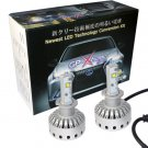 GP Xtreme H3 8000LM Lumen LED CREE XHP50 Kit Super White Headlamp Fog Light Day Time Running