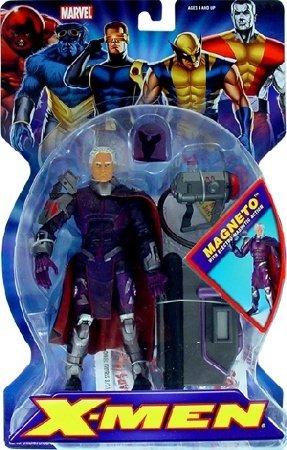 MARVEL LEGENDS X-MEN CLASSICS MAGNETO SUPERPOSEABLE ACTION FIGURE 2005 TOYBIZ